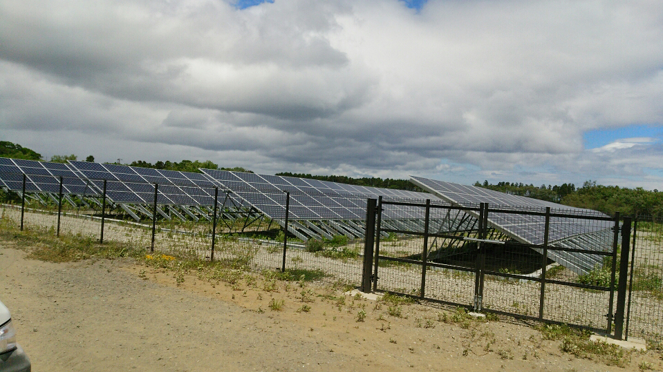三沢 太陽光発電